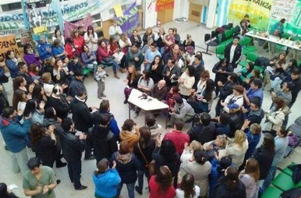 Sin la presencia de APROSA, hoy ATE se reúne en conciliación con obligatoria con Salud