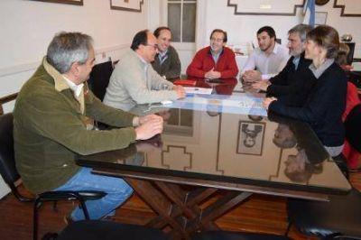LA GESTIÓN DE SALOMON TRABAJA EN UNA AGENDA DE DESARROLLO PARA SALADILLO