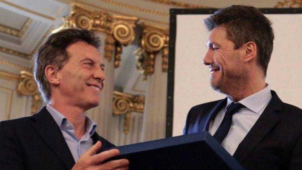 """""""En la intimidad Tinelli sueña con la presidencia de la Nación, y Macri lo sabe"""""""