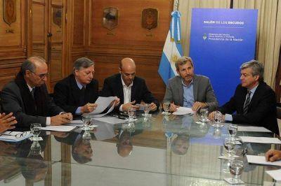 """""""Nuestro objetivo es generar empleo con la obra pública"""", afirmó Frigerio"""