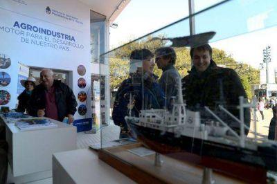 El mar llegó al campo: Inidep en la Exposición Rural