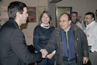El Director Provincial de Defensa Civil estuvo en Saladillo