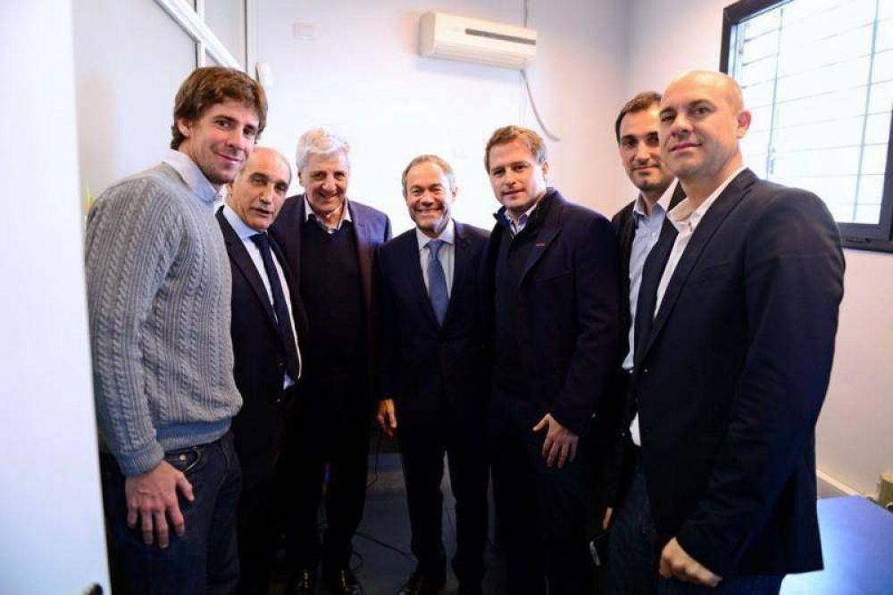 Andreotti y el Ministro Ferrari reinauguraron un Centro de Protección a las Víctimas