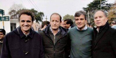 Insaurralde y Katopodis visitan La Plata para fortalecer el