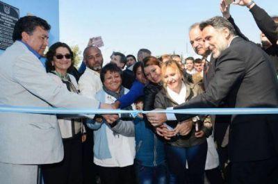 Lucía inauguró el CIC de Colonia del Valle