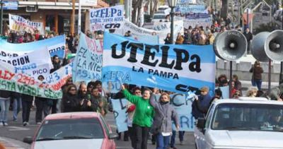 """UTELPa: """"Cómo puede estar protegida una sociedad con una policía que apunta y tira"""""""