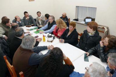 El Concejo Deliberante participó de una reunión del Plenario de Comisiones Vecinales