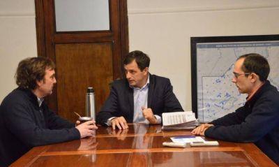 El Intendente se reuni� con el Jefe Regional de ANSES