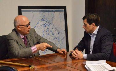 El Intendente se reunió con el Director de Provinfondos Carlos Alberto Gorosito