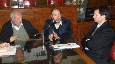 Debatieron sobre la interrupción del servicio de ferrocarril