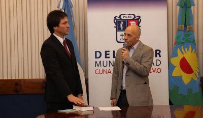 Diego Ranieli juró como Secretario de Gobierno de Pilar