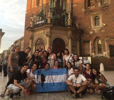 Los argentinos comienzan a llegar a Cracovia para la JMJ