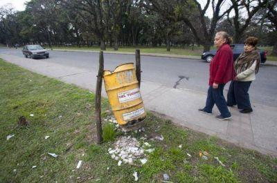 A causa del vandalismo se gastan $ 35 millones al año