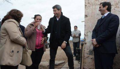 Agua potable, salas velatorias y convenios para San Martín
