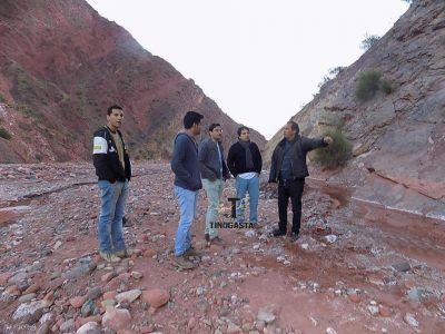 Proyectan obras hídricas en Villa Luján