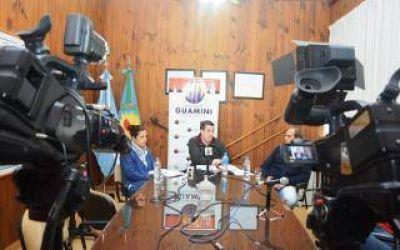 El Intendente de Guaminí anunció acuerdo salarial con los municipales