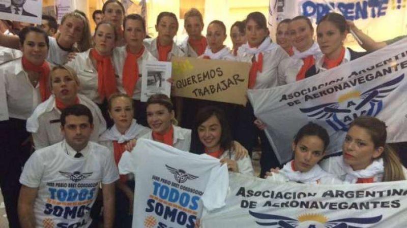 Aeronavegantes declaró la realización de asambleas en los aeropuertos de todo el país