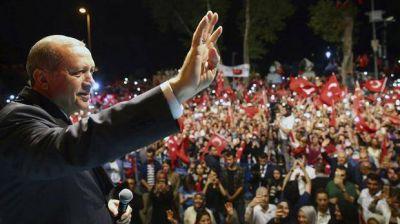 Erdogan aseguró que el pueblo turco