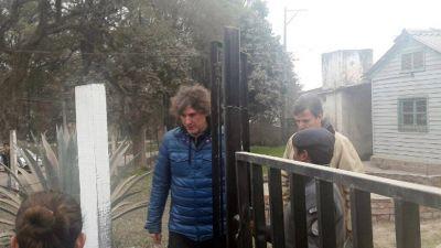 Amado Boudou visit� a Milagro Sala en la c�rcel y sostuvo que es una