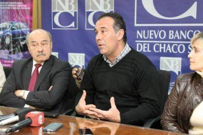 """Daniel Capitanich lanzó """"Requetepremios 2016"""", una promo para incentivar el uso de la banca electrónica y la tarjeta de débito"""