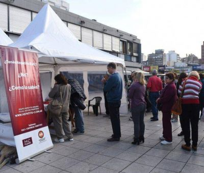 Unos 150 m�dicos realizar�n hoy tests de detecci�n de hepatitis
