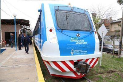 Se reanud� el servicio de trenes en Resistencia con unidades nuevas