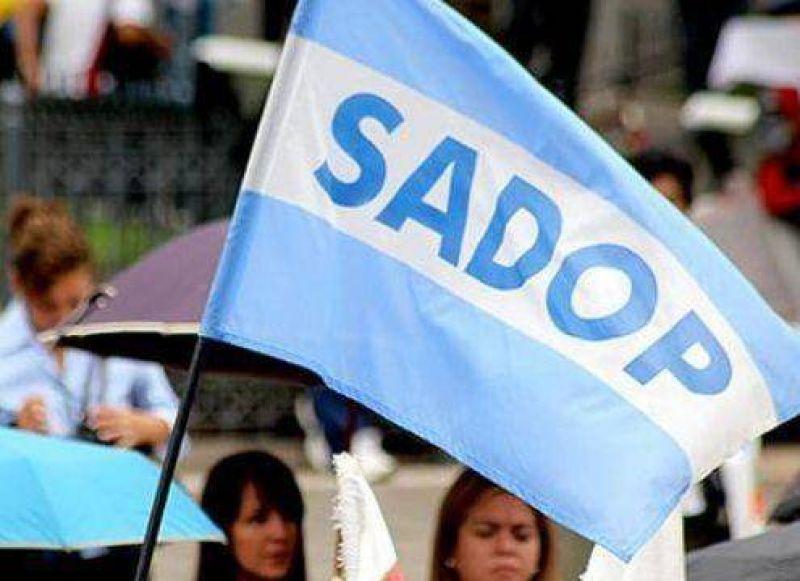 Sadop se declaró en estado de alerta y movilización