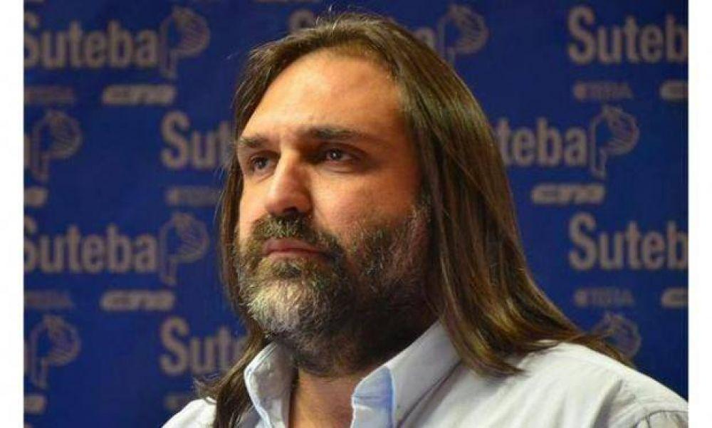 """SUTEBA advierte: """"O reabren paritarias o se viene el conflicto"""""""