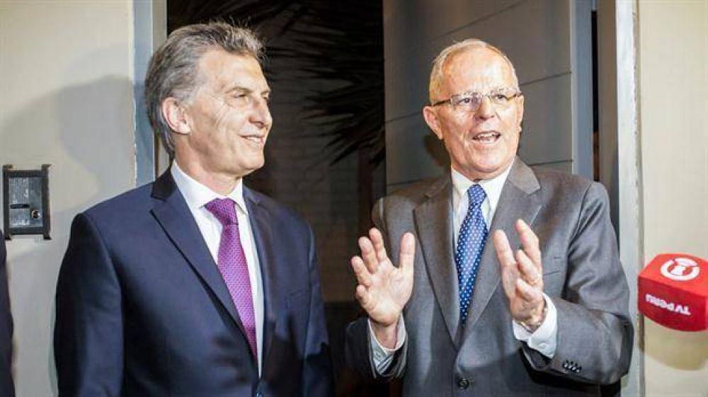 Encuentro con el nuevo presidente de Perú