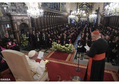 El Papa en Cracovia con los obispos de Polonia: un encuentro sencillo y familiar