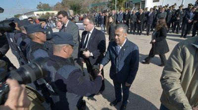 Cornejo anunció la incorporación de más policías y equipamiento para combatir el delito