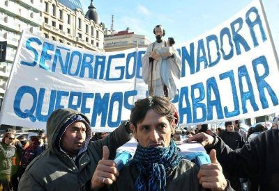 La Provincia critic� a Barrios de Pie por la movilizaci�n a La Plata