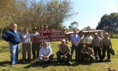 Guardaparques de Laguna Pintascayo cuentan con una nueva seccional