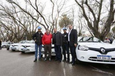 Weretilneck entregó 14 nuevos vehículos para ARSA