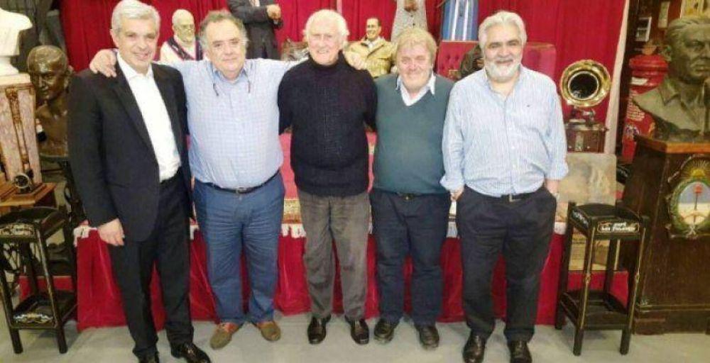 Domínguez, Valdés, Vera y Pino Solanas reunidos por la Laudato Sí