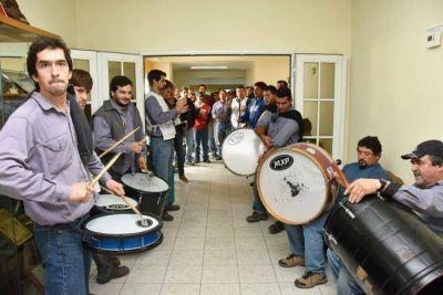 Fuerte protesta de Luz y Fuerza en la CPE: le descontaron horas de paro