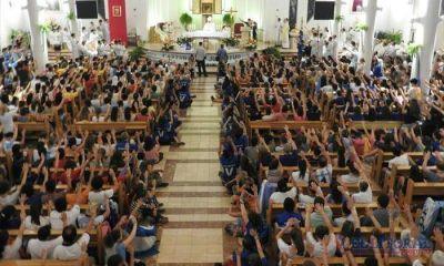 En la Jornada Mundial de la Juventud también se hizo notar el fervor espiritual correntino