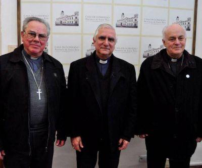 Obispos entrerrianos se reunieron con Bordet