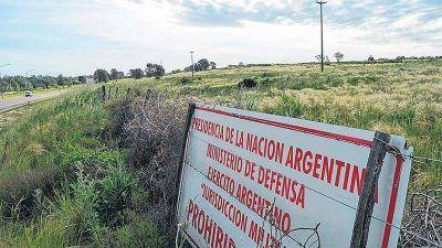 Licitar�n 30.000 hect�reas de las Fuerzas Armadas para producir soja y ma�z