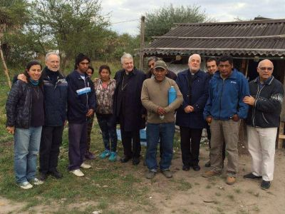Endepa destaca la visita que el nuncio hizo a la comunidad Namqom