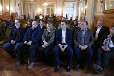 """Bolívar estuvo presente en la presentación del programa """"Quiero ser residente"""""""