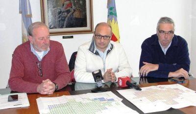 El Municipio anunció la construcción de un nuevo tanque cisterna de agua