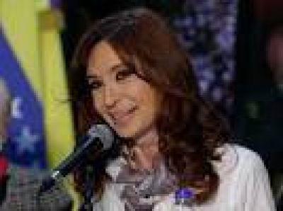 Volvi� CFK, a fondo: homenaje a Ch�vez, cr�ticas y autocr�tica