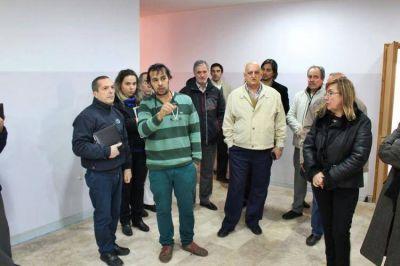 Ministerio de Salud evalúa la obra de Neonatología Regional