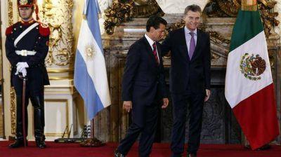 Mauricio Macri y Enrique Peña Nieto:
