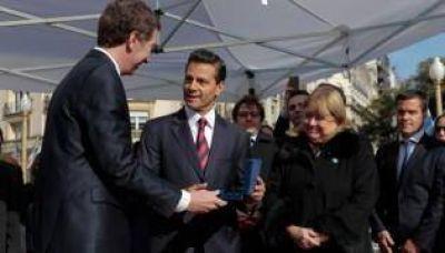 Santilli declaró Visitante Ilustre a Enrique Peña Nieto