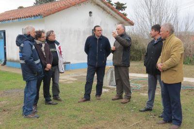Anuncian obras para mejorar la planta de cloacas