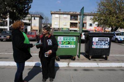 Taf� Viejo inicia un plan piloto para separar los residuos