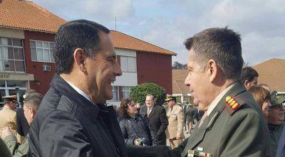 Amado participó de los festejos por los 78 años de Gendarmería