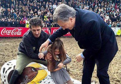 Mauricio Macri ratificó su sintonía con el poder del campo